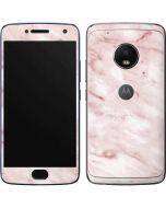 Pink Marble Moto G5 Plus Skin