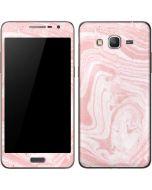 Pink Marbling Galaxy Grand Prime Skin