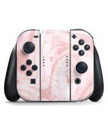Pink Marbling Nintendo Switch Joy Con Controller Skin