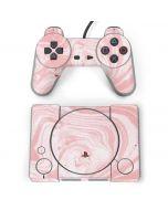 Pink Marbling PlayStation Classic Bundle Skin