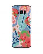 Pink Spring Flowers Galaxy S8 Plus Skin