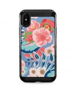 Pink Spring Flowers iPhone X Cargo Case