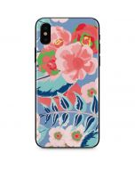 Pink Spring Flowers iPhone X Skin