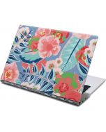 Pink Spring Flowers Yoga 910 2-in-1 14in Touch-Screen Skin