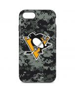 Pittsburgh Penguins Camo iPhone 8 Pro Case