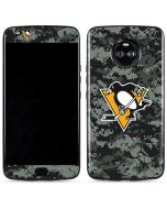 Pittsburgh Penguins Camo Moto X4 Skin