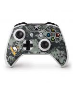 Pittsburgh Penguins Camo Xbox One S Controller Skin