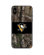Pittsburgh Penguins Realtree Xtra Camo iPhone X Skin