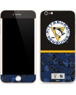 Pittsburgh Penguins Retro Tropical Print iPhone 6/6s Plus Skin