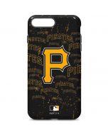 Pittsburgh Pirates - Cap Logo Blast iPhone 7 Plus Pro Case