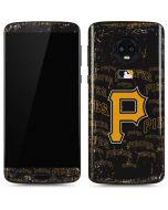 Pittsburgh Pirates - Cap Logo Blast Moto G6 Skin