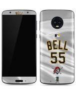 Pittsburgh Pirates Bell #55 Moto G6 Skin