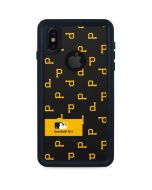 Pittsburgh Pirates Full Count iPhone XS Waterproof Case