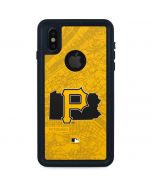 Pittsburgh Pirates Home Turf iPhone XS Waterproof Case