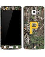 Pittsburgh Pirates Realtree Xtra Green Camo Galaxy S6 Edge Skin