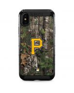 Pittsburgh Pirates Realtree Xtra Green Camo iPhone XS Max Cargo Case