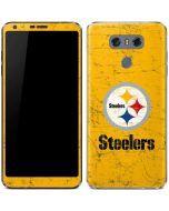 Pittsburgh Steelers - Alternate Distressed LG G6 Skin