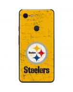 Pittsburgh Steelers - Alternate Distressed Google Pixel 3 XL Skin