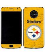 Pittsburgh Steelers - Alternate Distressed Moto X4 Skin