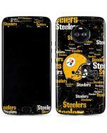 Pittsburgh Steelers - Blast Dark Moto X4 Skin