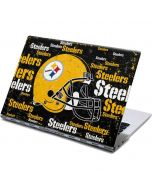 Pittsburgh Steelers - Blast Dark Yoga 910 2-in-1 14in Touch-Screen Skin
