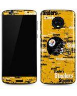 Pittsburgh Steelers - Blast Moto G6 Skin