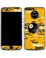 Pittsburgh Steelers - Blast Moto X4 Skin