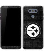 Pittsburgh Steelers Black & White LG G6 Skin