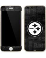 Pittsburgh Steelers Black & White iPhone 6/6s Skin