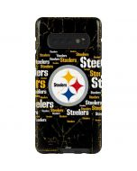 Pittsburgh Steelers Black Blast Galaxy S10 Plus Pro Case