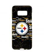 Pittsburgh Steelers Black Blast Galaxy S8 Plus Lite Case