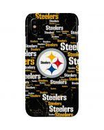 Pittsburgh Steelers Black Blast iPhone XS Max Lite Case