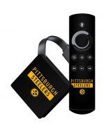 Pittsburgh Steelers Black Performance Series Amazon Fire TV Skin
