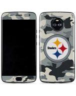 Pittsburgh Steelers Camo Moto X4 Skin