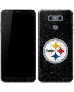 Pittsburgh Steelers Distressed LG G6 Skin