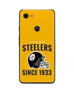 Pittsburgh Steelers Helmet Google Pixel 3 XL Skin