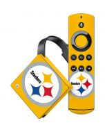 Pittsburgh Steelers Large Logo Amazon Fire TV Skin