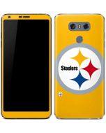 Pittsburgh Steelers Large Logo LG G6 Skin
