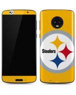 Pittsburgh Steelers Large Logo Moto G6 Skin