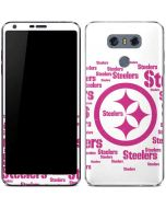 Pittsburgh Steelers Pink Blast LG G6 Skin