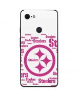 Pittsburgh Steelers Pink Blast Google Pixel 3 XL Skin