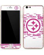 Pittsburgh Steelers Pink Blast iPhone 6/6s Skin
