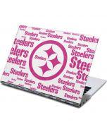 Pittsburgh Steelers Pink Blast Yoga 910 2-in-1 14in Touch-Screen Skin