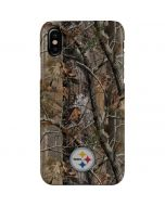 Pittsburgh Steelers Realtree AP Camo iPhone XS Max Lite Case