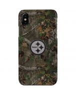 Pittsburgh Steelers Realtree Xtra Green Camo iPhone XS Max Lite Case