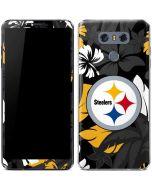 Pittsburgh Steelers Tropical Print LG G6 Skin