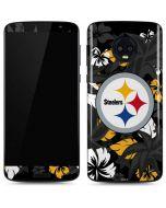 Pittsburgh Steelers Tropical Print Moto G6 Skin