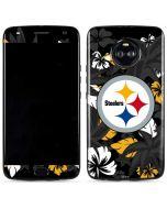 Pittsburgh Steelers Tropical Print Moto X4 Skin