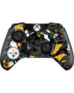 Pittsburgh Steelers Tropical Print Xbox One Controller Skin