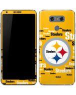 Pittsburgh Steelers Yellow Blast LG G6 Skin